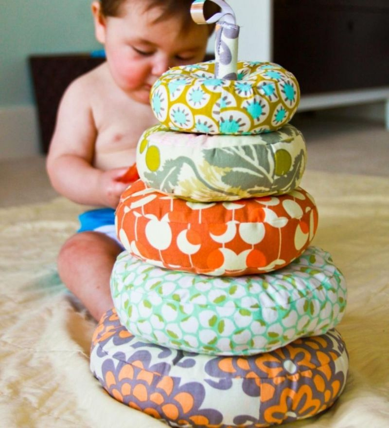 DIY Fabric Baby Toys | #findjoydaily